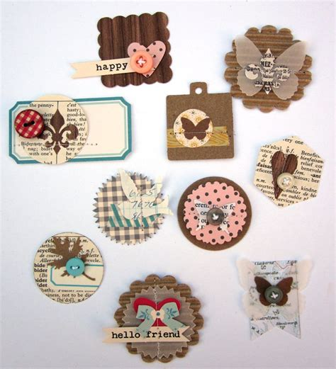 Handmade Embellishments For Scrapbooking - 1000 images about home made embellies on