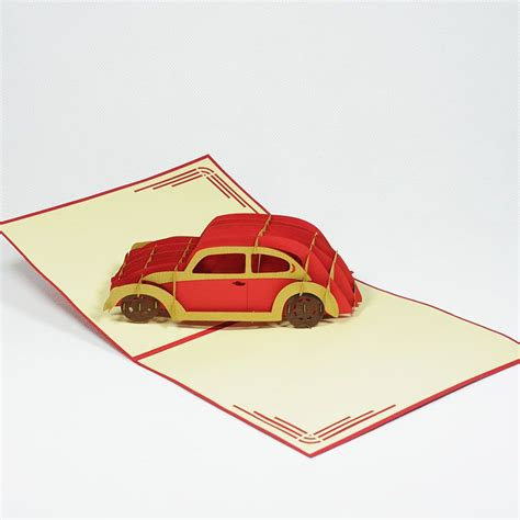 Pop Up Tractor Card Template by New Car Pop Up Card Popupcardvietnamsupplier