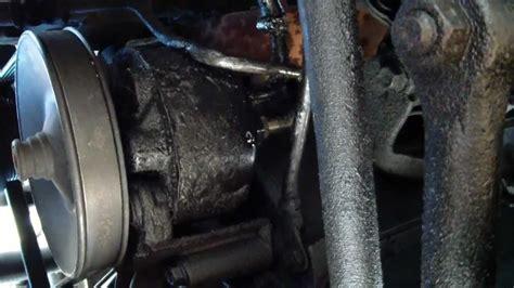 replace power steering pump  gmc safari  astro
