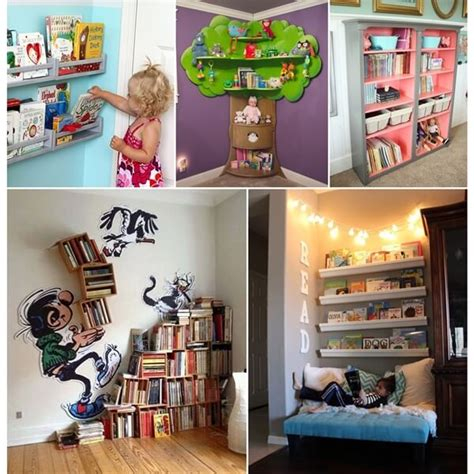 creative bookcase ideas for your readers
