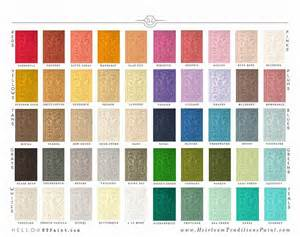 chalk type paint htp by heirloom traditions 50 colors quart