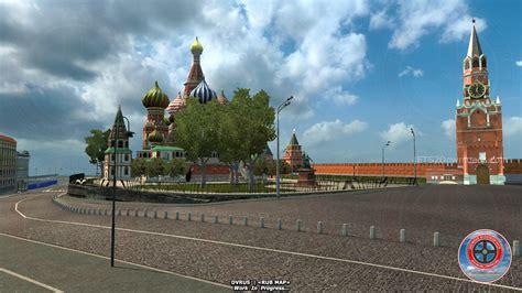 moscow  russia map ets  mods etsdownloads