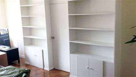 Pressurized Walls Nyc what is a bookcase wall