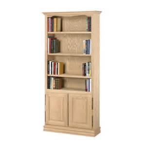 oak bookshelves with doors americana 84 quot bookcase wayfair