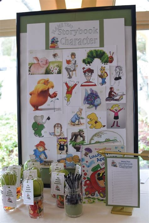 Storybook Themed Baby Shower Decorations by Best 25 Storybook Baby Shower Ideas On