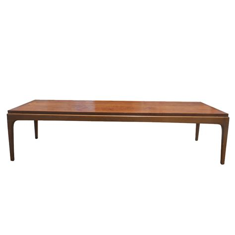 vintage coffee table 57 quot vintage walnut coffee cocktail table price reduced