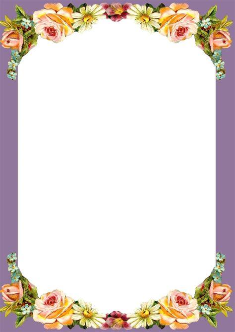 Template Border Paper Template Paper Template With Border