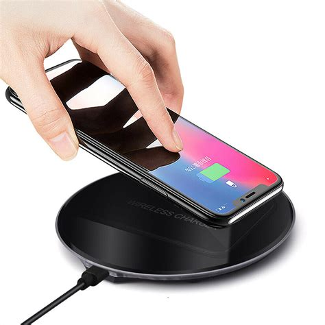 qi induction wireless charger charging stand pad for samsung galaxy s9 s8 s7 s6 ebay
