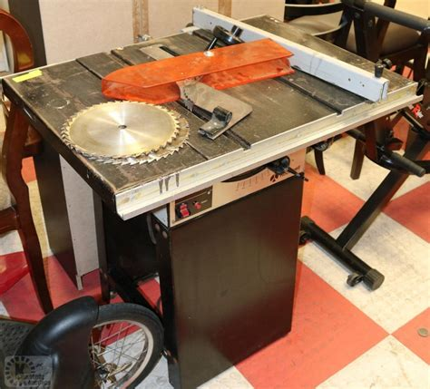 rockwell model 9 table saw rockwell model 9 homecraft table saw with kastner auctions