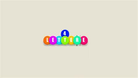 parole di quattro lettere 4 lettere la versione italiana gioco di parole cult