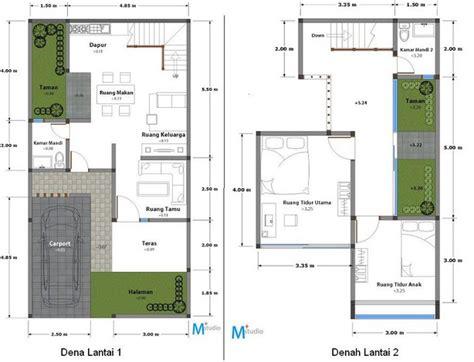layout rumah type 90 denah rumah minimalis type 90 2 lantai architecture