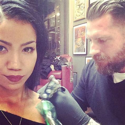 jhene aiko tattoo on shoulder meaning jhene aiko gets new buddha influenced ink celebnmusic247