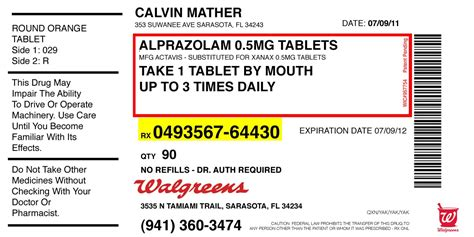 Prescription Bottle Label Template Popular Sles Templates Blank Prescription Bottle Label Template