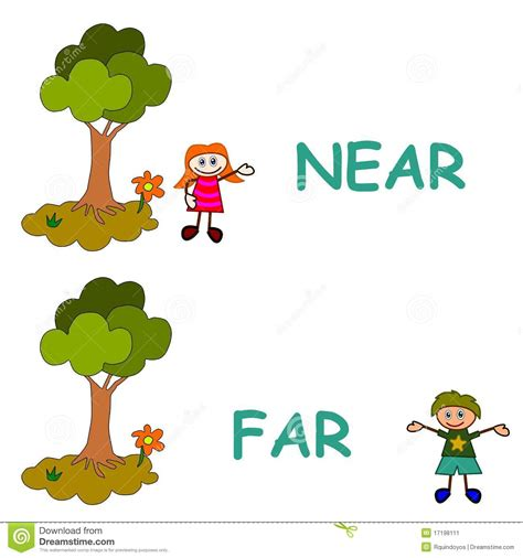 near and far far clipart clipground