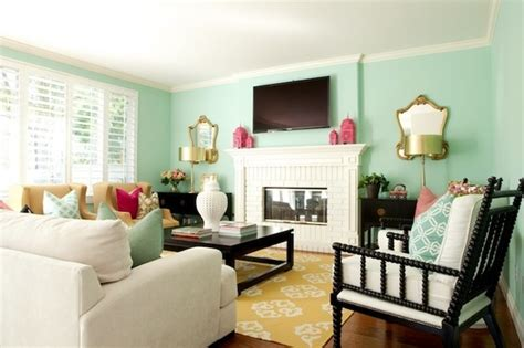 mint green living room mint paint color living room home decor pinterest