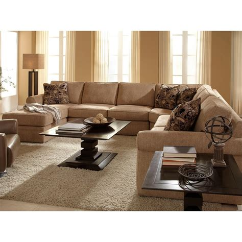 broyhill sofa with chaise broyhill upholstered laf chaise sectional sofa in