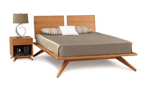 copeland bed copeland astrid bed with 2 headboard panels in cherry