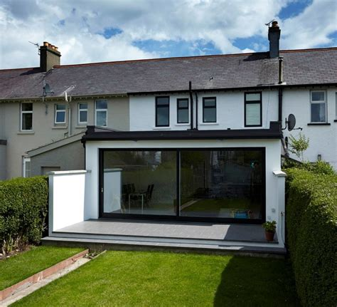 Kitchens Extensions Designs mid terrace extension bangor contemporary exterior