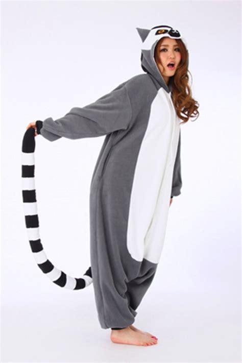 Animal Onesie Pajama lemur kigurumi animal onesie 4kigurumi