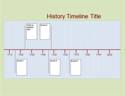 layout word origin history timeline template free invitation template