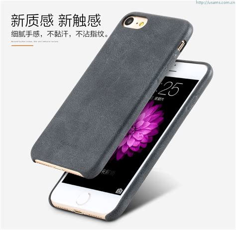 Cover Usams Bob Series Pu Leather Syntetic Luxury Samsung S8 Plus usams leather cover for apple iphone 7 bob series