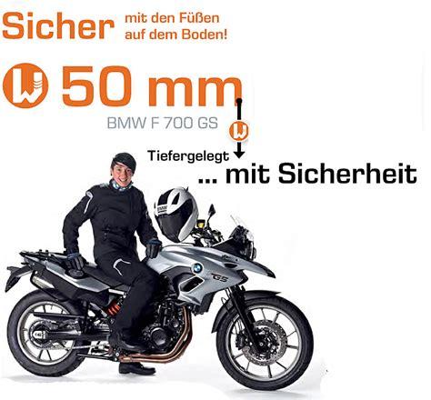 Bmw F800gs Tieferlegen by Wilbers Wesa Bmw F 700 Gs