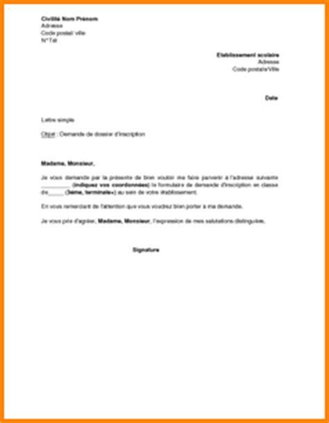 Lettre De Recommandation Pour Inscription Dans Une Université 4 Lettre De Motivation Pour Lyc 233 E Exemple Lettres