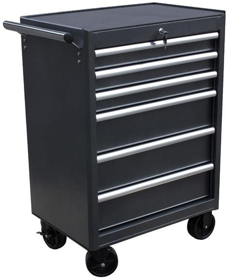 WEN 26 inch 6 Drawer Rolling Tool Cabinet