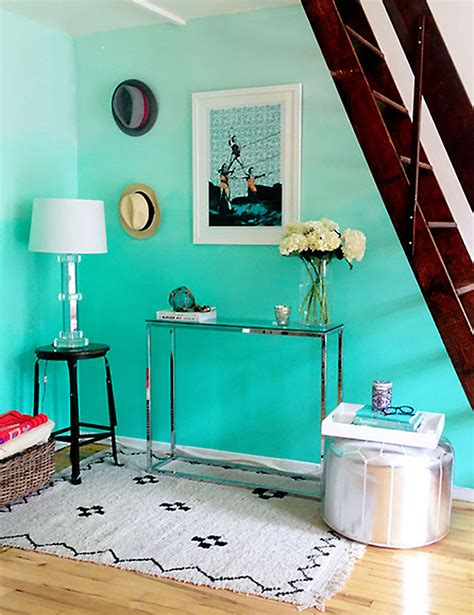 how to make turquoise ombre wall diy crafts handimania