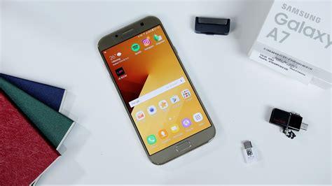 Samsung Galaxy A7 Unboxing samsung galaxy a7 2017 unboxing dan impresi pertama