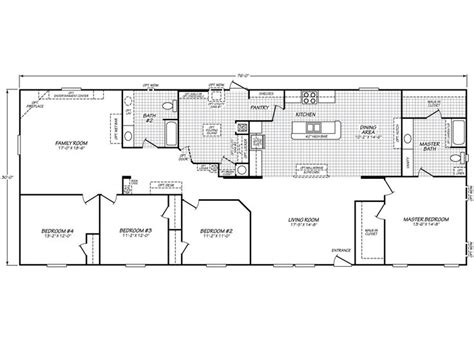 westfield floor plan vivian s mobile homes inc westfield classic 32764f