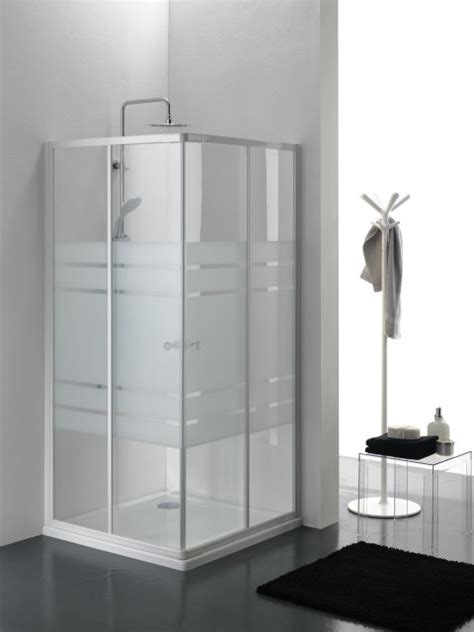 box doccia prezzi 80x80 box doccia in cristallo 3 5mm apertura