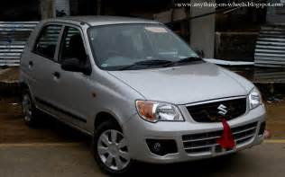 Alto K10 Maruti Suzuki Anything On Wheels Driven 3 Maruti Suzuki Alto K10