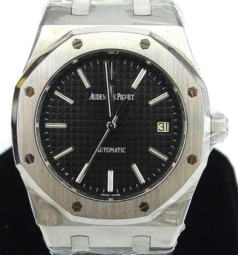 Audemars Piguet Matic 3 audemars piguet royal oak ref 15300 black gr luxury singapore rolex reliable dealer