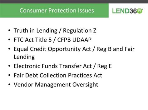 fair debt collection practices act section 809 b ppt peer to peer innovation and regulation powerpoint