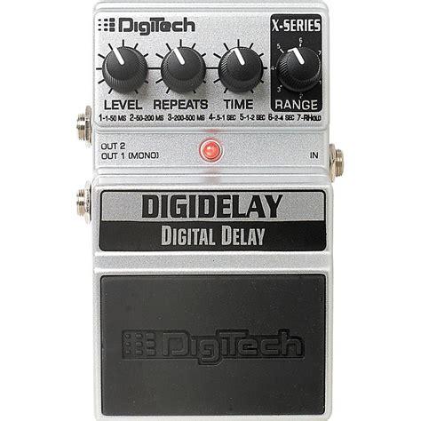 Digitect Digital digitech digidelay digital delay pedal musician s friend
