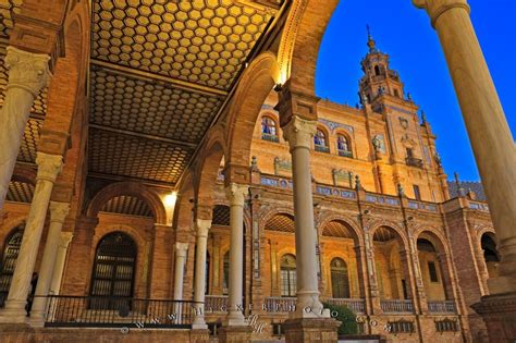 moorish architecture plaza de espana moorish revival architecture seville