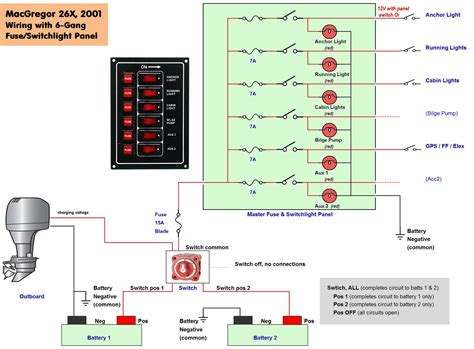 pontoon wiring diagram for lights wiring diagram with