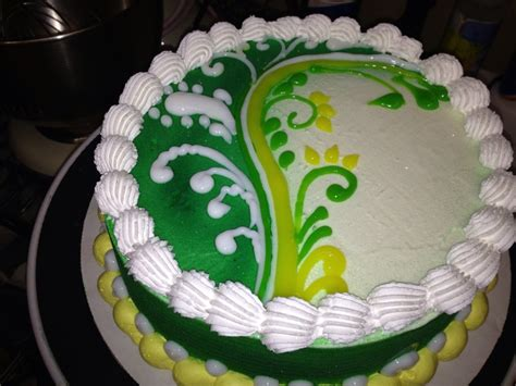 Sometimes I really miss making these ice cream cakes