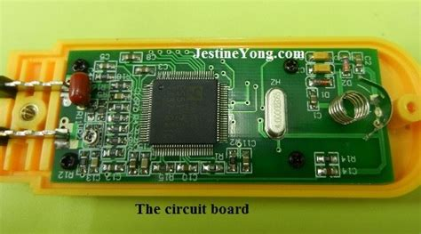 test smd capacitor in circuit smd smart tweezers component tester electronics repair and technology news