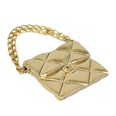 Chanel Flap Bag With Box 5018bsvc chanel 2 55 quilted flap bag gold pin brooch in box for