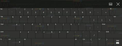 keyboard layout us registry enable standard layout in touch keyboard in windows 10