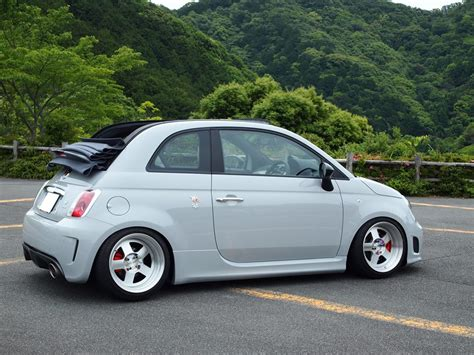 fiat 500 abarth stats cool stanced fiat 500 abarth cabrio 2 cars one