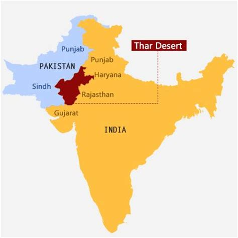 thar desert location unique facts about the fascinating thar desert