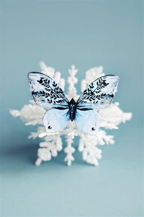 it was snowing butterflies snow white butterfly brooch kuma design store