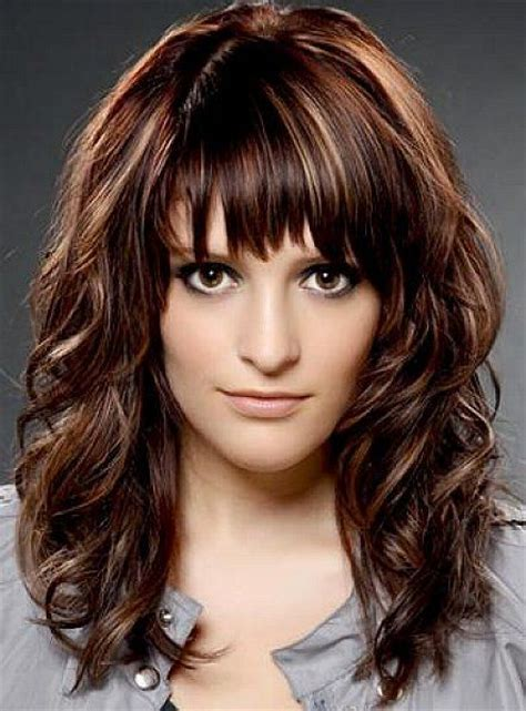 in front medium haircuts best medium length hairstyles with highlights