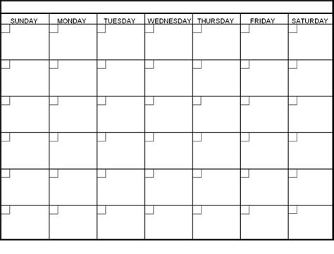 generic calendar template 58 best blank calendar images on blank