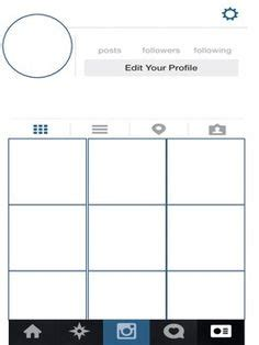 1000 Images About Instagram Template On Pinterest Facebook Book Characters And Getting To Instagram Project Template