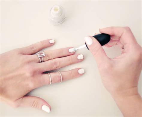 imagenes de uñas pintadas blancas 20 trucos y consejos para que tus u 241 as luzcan radiantes
