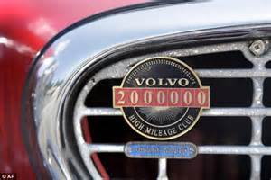 Volvo High Mileage Badge 1966 Volvo Has Driven Nearly Three Million Daily